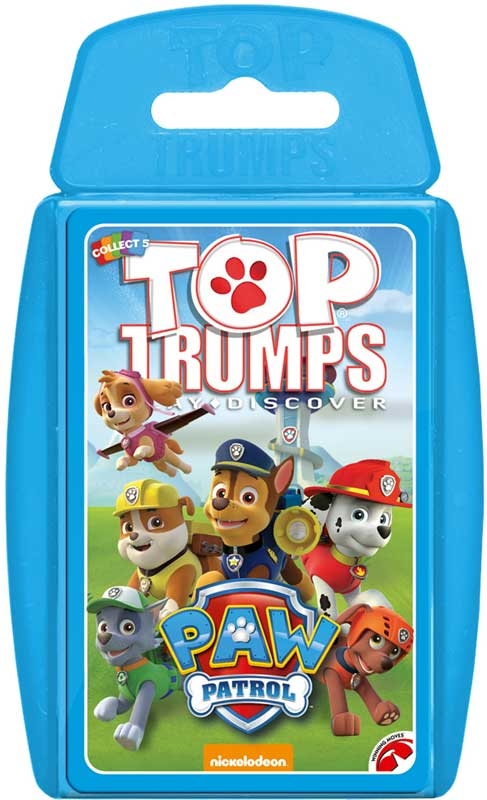 Wholesalers of Top Trumps - Paw Patrol toys