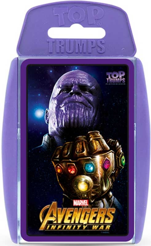 Wholesalers of Top Trumps Avengers Infinity toys