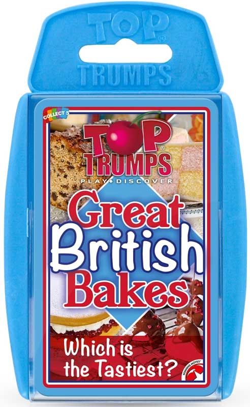 Wholesalers of Top Trumps British Bakes toys
