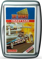Wholesalers of Top Trumps Crazy Cars Retro toys image