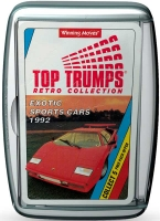 Wholesalers of Top Trumps Exotic Sports Cars Retro toys image