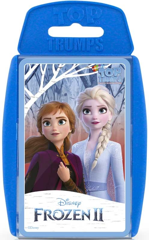 Wholesalers of Top Trumps Frozen 2 toys