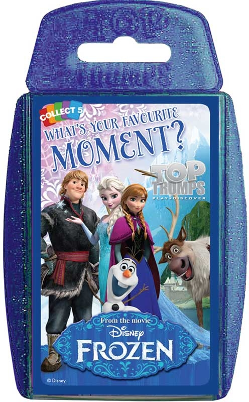 Wholesalers of Top Trumps Frozen Moments toys