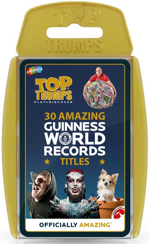 Wholesalers of Top Trumps Guiness World Records toys