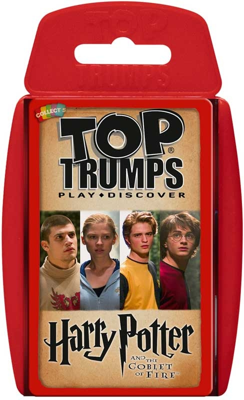Wholesalers of Top Trumps Harry Potter And The Goblet Of Fire toys