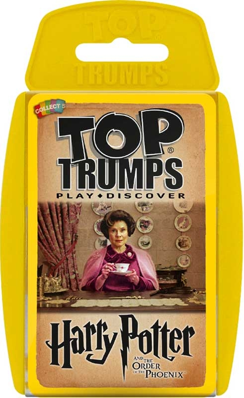 Wholesalers of Top Trumps Harry Potter And The Order Of The Phoenix toys