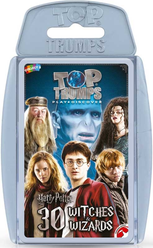 Wholesalers of Top Trumps Harry Potter Top 30 Witches & Wizards toys