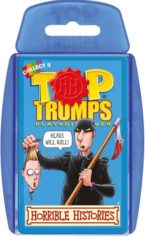 Wholesalers of Top Trumps Horrible Histories toys