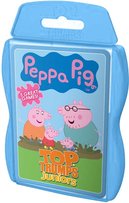 Wholesalers of Top Trumps Peppa Pig Junior toys
