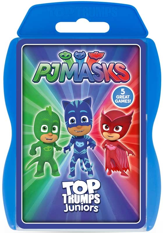 Wholesalers of Top Trumps Pj Masks Junior toys