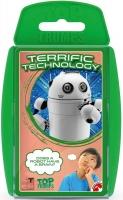 Wholesalers of Top Trumps Stem Terrific Tech toys image