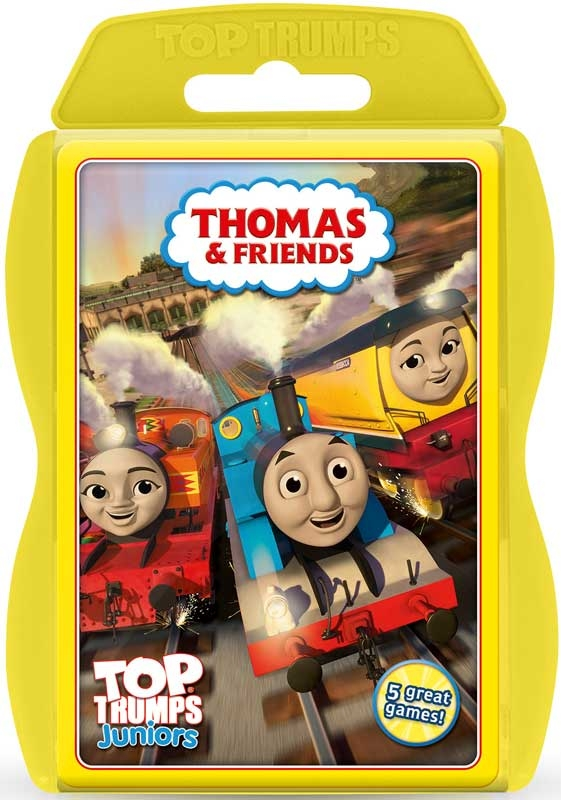 Wholesalers of Top Trumps Thomas Junior toys