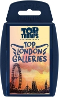 Wholesalers of Top Trumps Top London Galleries toys image
