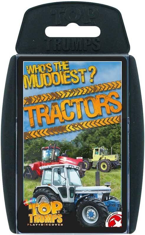 Wholesalers of Top Trumps Tractors toys