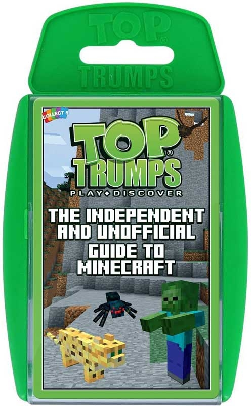 Wholesalers of Top Trumps Unofficial Guide To Minecraft toys