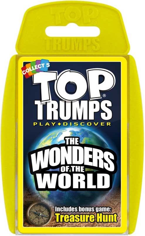 Wholesalers of Top Trumps Wonders Of The World toys
