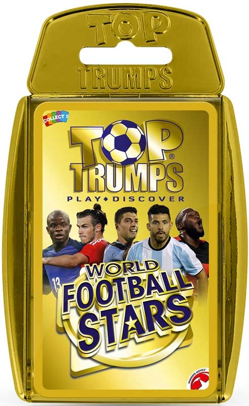 Wholesalers of Top Trumps World Football Stars - Gold Case toys