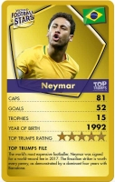 Wholesalers of Top Trumps World Football Stars - Gold Case toys image 3