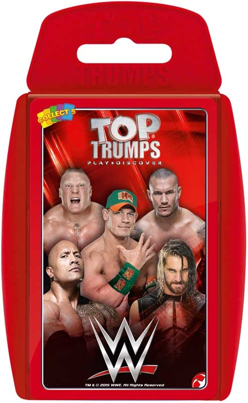 Wholesalers of Top Trumps Wwe toys