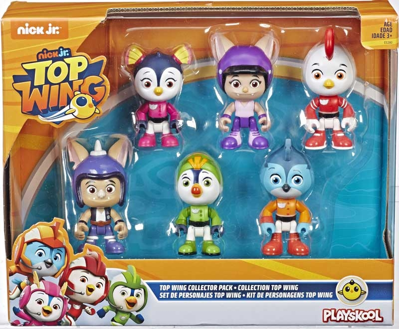 Wholesalers of Top Wing 6-character Collection Pack toys