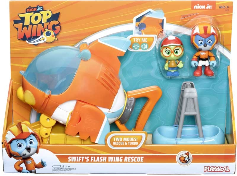 Wholesalers of Top Wing Swifts Flash Wing Rescue toys