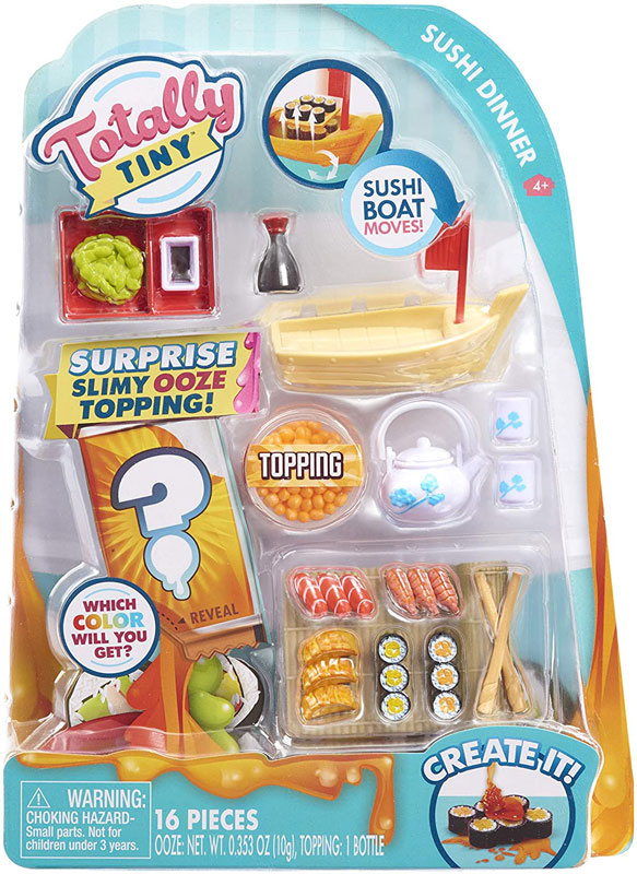 Wholesalers of Totally Tiny Cook-n-serve - Sushi Dinner toys