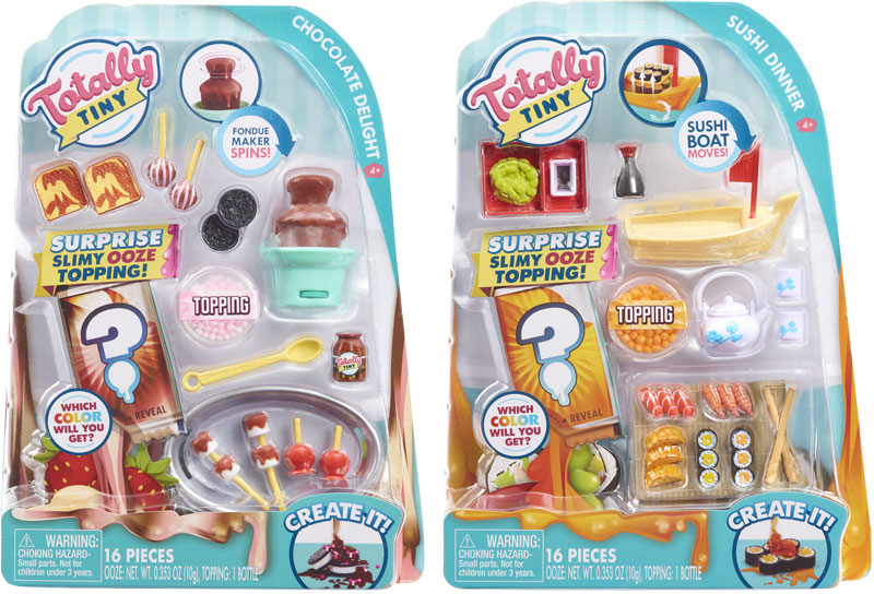 Wholesalers of Totally Tiny Cook-n-serve Mini Food Sets Asst toys