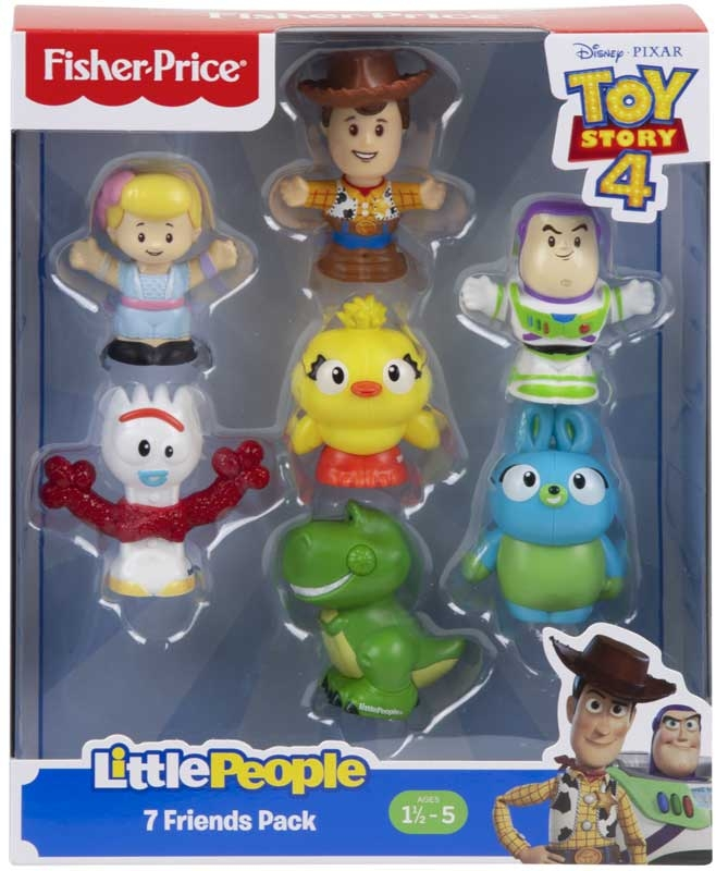 Wholesalers of Toy Story 4 7 Friends Pack By Little People toys