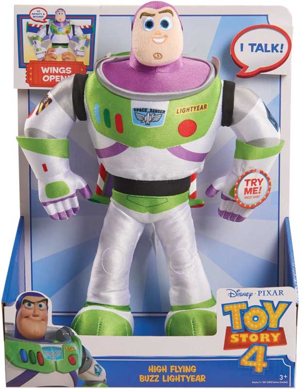 Wholesalers of Toy Story 4 High Flying Buzz Lightyear Feature Plush toys