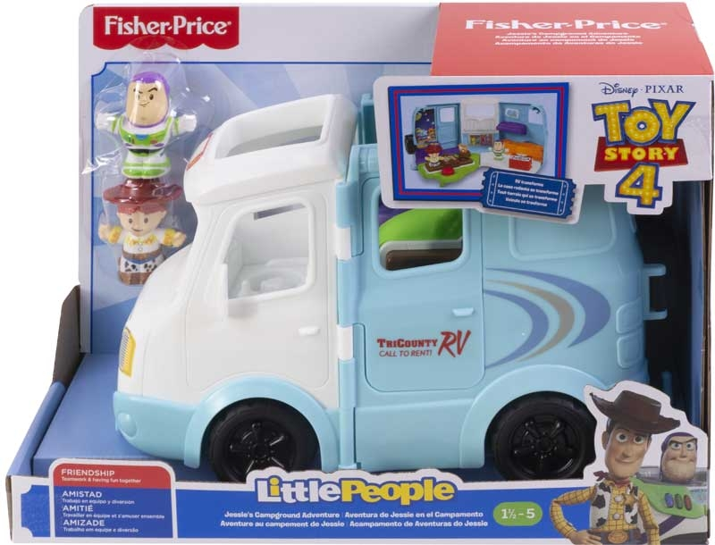 Wholesalers of Toy Story 4 Jessies Campground Adventure By Little People toys