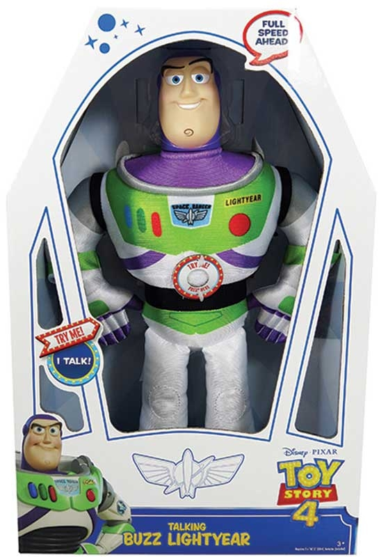 Wholesalers of Toy Story 4 Large Talking Plush - Buzz toys