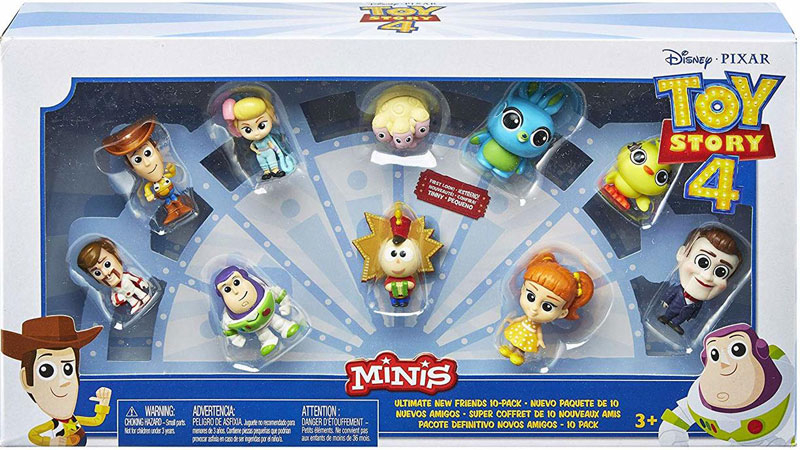 Wholesalers of Toy Story 4 Mini Fig 10pk toys