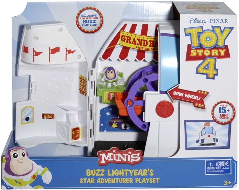 Wholesalers of Toy Story 4 Mini Star Adventure Playset toys