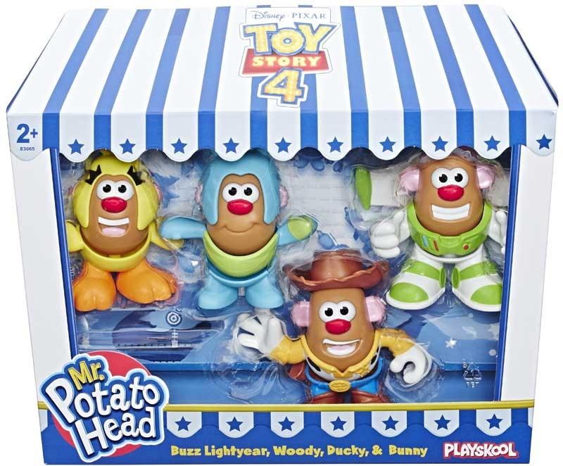 Wholesalers of Toy Story 4 Mr Potato Head Mini 4 Pk toys