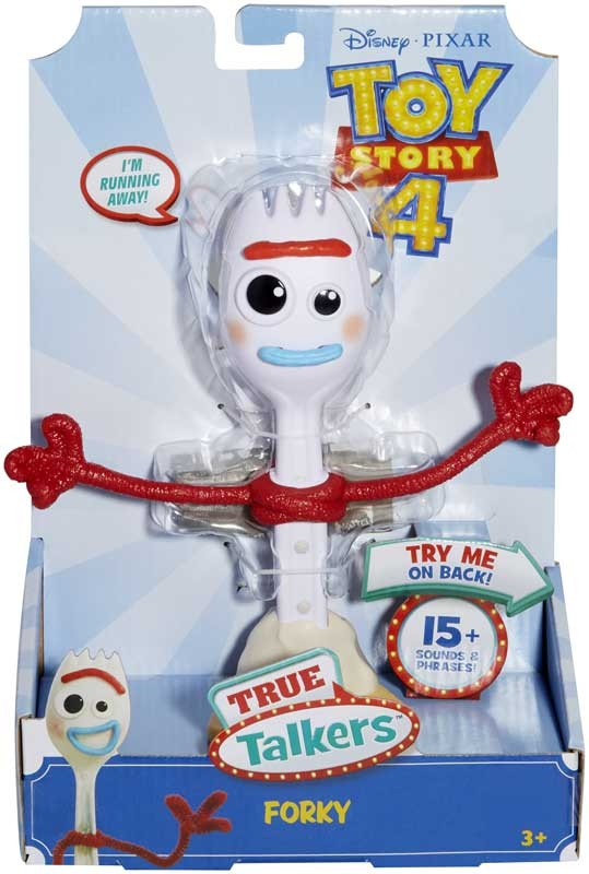 Wholesalers of Toy Story 4 True Talkers Forky Figure toys