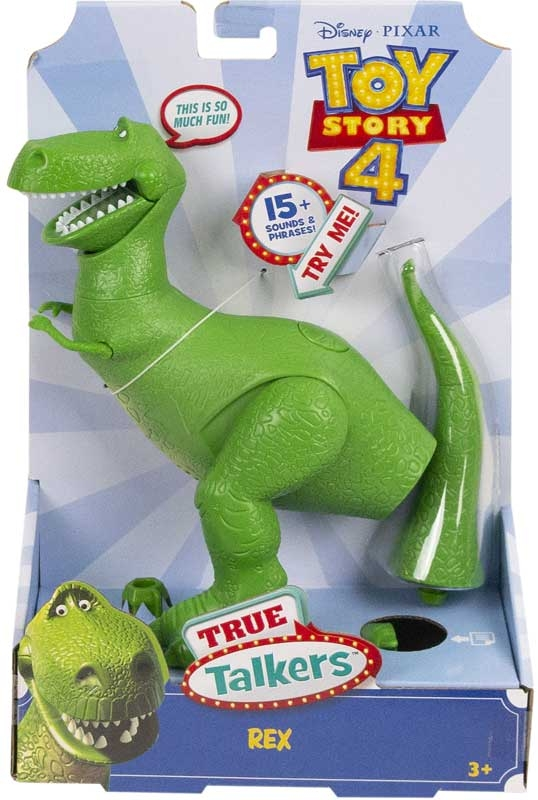 Wholesalers of Toy Story 4 True Talkers Rex Figure toys