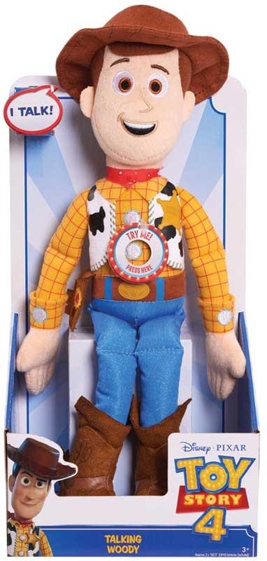 Wholesalers of Toy Story 4 Woody Talking Plush toys