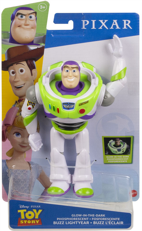 Wholesalers of Toy Story Basic Fig Glow In The Dark Buzz toys
