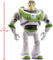 Wholesalers of Toy Story Basic Fig Glow In The Dark Buzz toys image 3