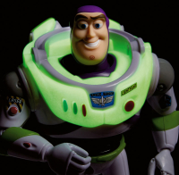 Wholesalers of Toy Story Basic Fig Glow In The Dark Buzz toys image 4