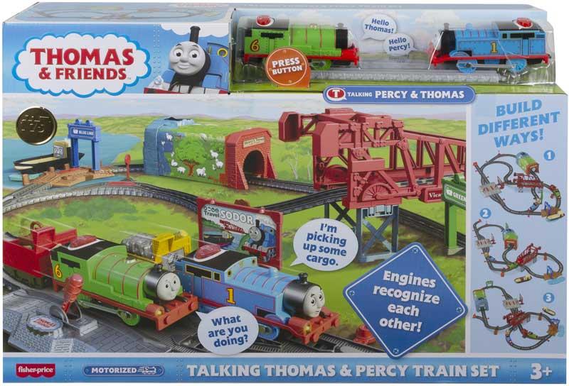 Wholesalers of Thomas Motorised - Talking Thomas And Percy Train Set toys