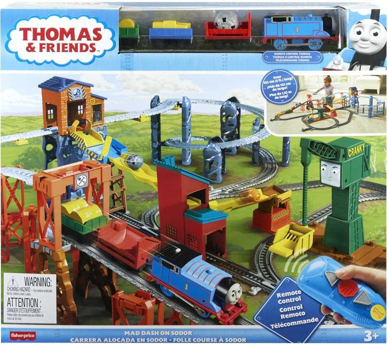 Wholesalers of Trackmaster Motorised Mad Dash On Sodor Set toys