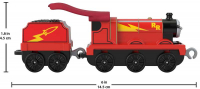 Wholesalers of Trackmaster Push Along Large Engine Super Hero James toys image 2
