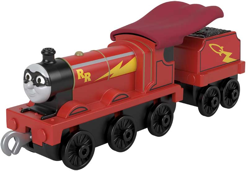 Wholesalers of Trackmaster Push Along Large Engine Super Hero James toys