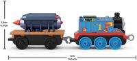Wholesalers of Trackmaster Push Along Large Engine Thomas With Rocket toys image 3