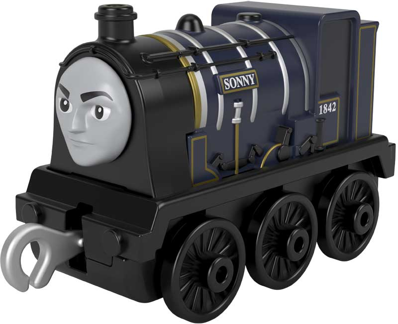 Wholesalers of Trackmaster Push Along Small Engine Sonny toys