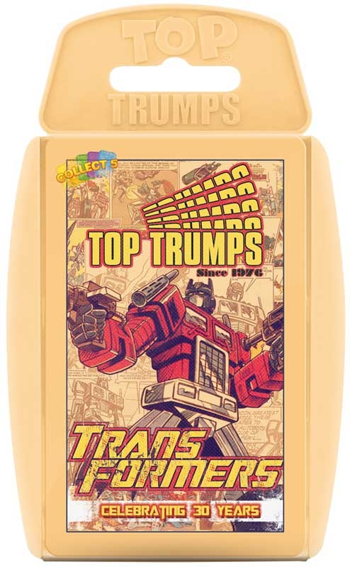 Wholesalers of Top Trumps - Transformers - Celebrating 30 Years toys