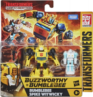 Wholesalers of Transformers Wfc Bumblebee & Spike Witwicky 2pk toys image