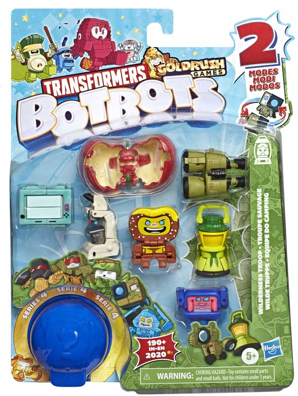 Wholesalers of Transformers Botbots 8pk Outdoors Asst toys