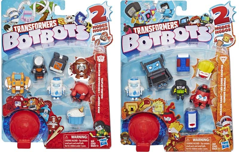 Wholesalers of Transformers Botbots 8pk toys